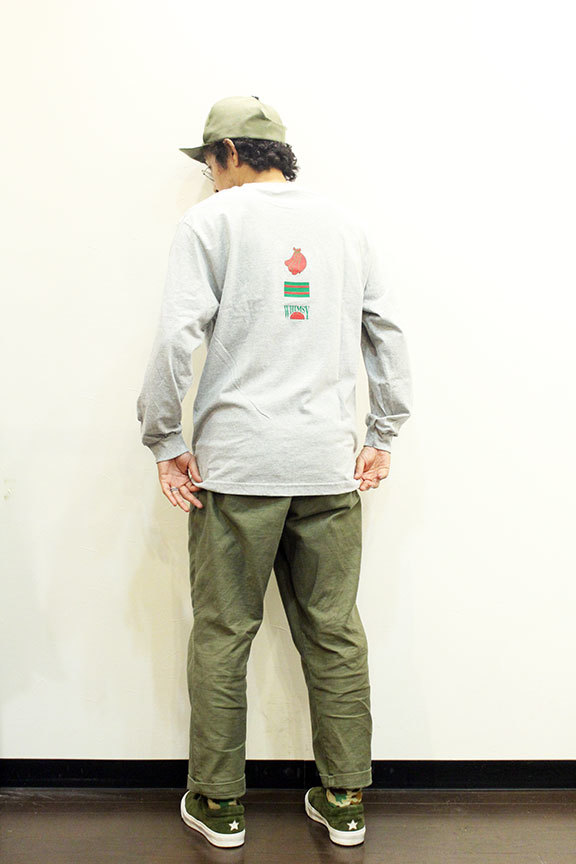 "WHIMSY (ウィムジー) "" FRESH DELIVERY L/S TEE \""_b0122806_13085148.jpg"