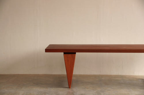 『Illum Wikkelso Teak Solid Coffee Table』_c0211307_16394691.jpg