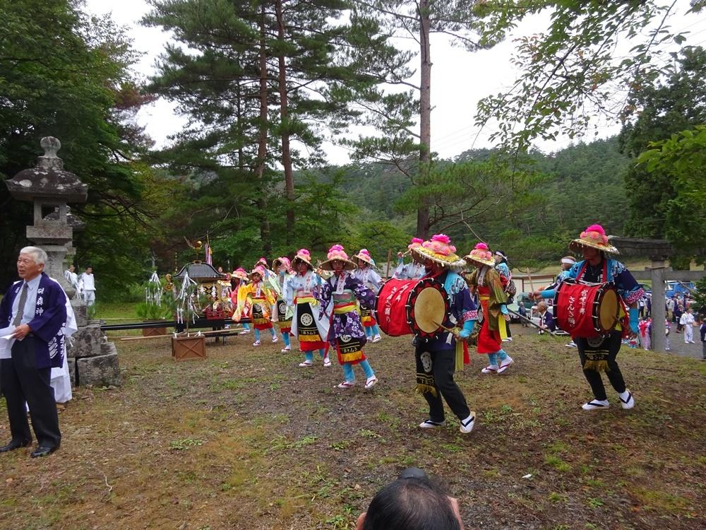 兼務社砥森神社例祭奉仕_c0111229_18441891.jpg