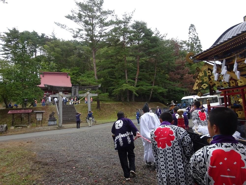 兼務社砥森神社例祭奉仕_c0111229_18460820.jpg