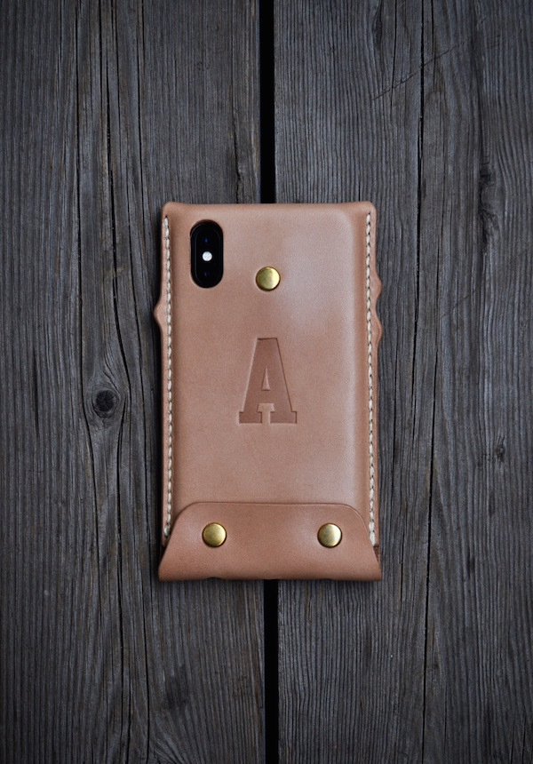 iphone Xs leather case _b0172633_20242893.jpg