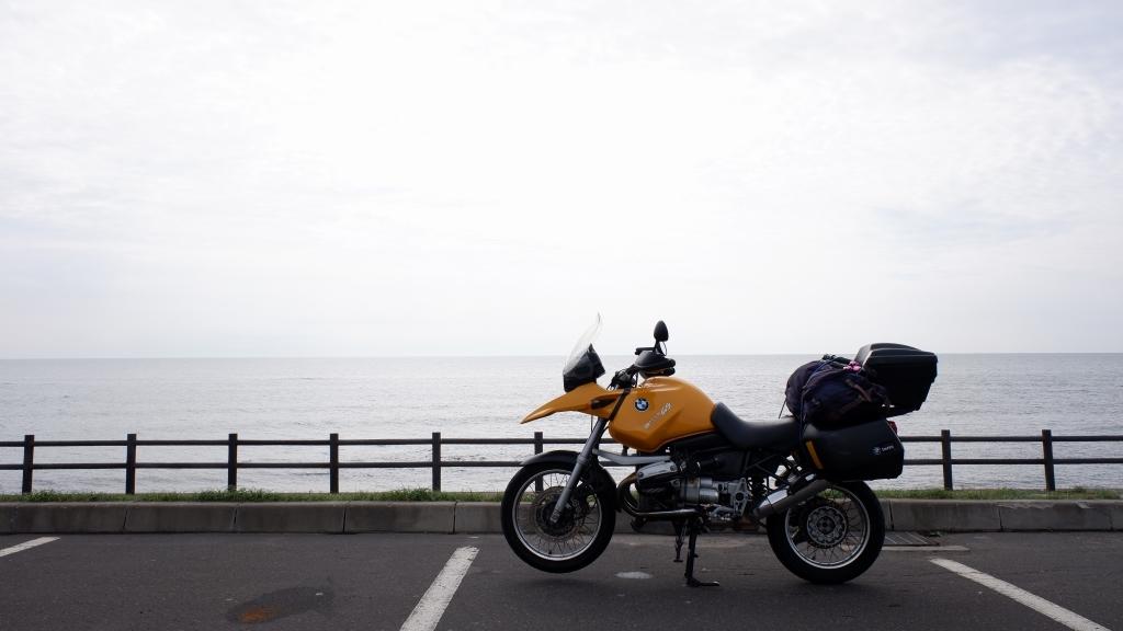 波瀾万丈北海道ツーリング Day2  小平 海鮮丼_f0050534_08122124.jpg