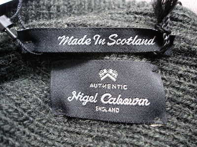 "NEW : Nigel Cabourn ""AUTHENTIC"" [PLAIN BEANIE] & [EMBROIDED BROAD ARROW BEANIE] 2018FW !!_a0132147_19314974.jpg"