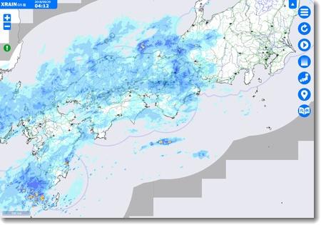 台風24号接近_c0147448_10175242.jpg