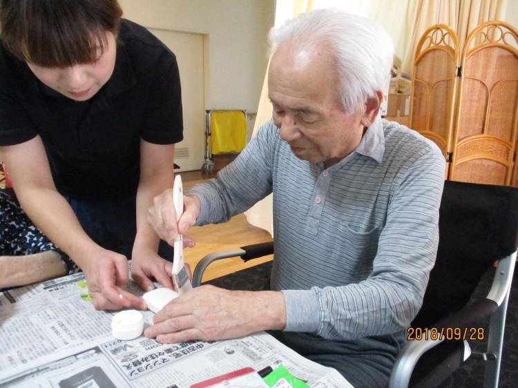 石鹸デコパージュ作り_e0191174_16514468.jpg