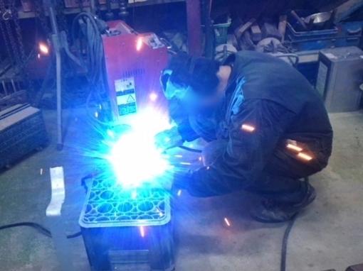 カブ70・マフラー修理&交換_a0279883_23371896.jpg