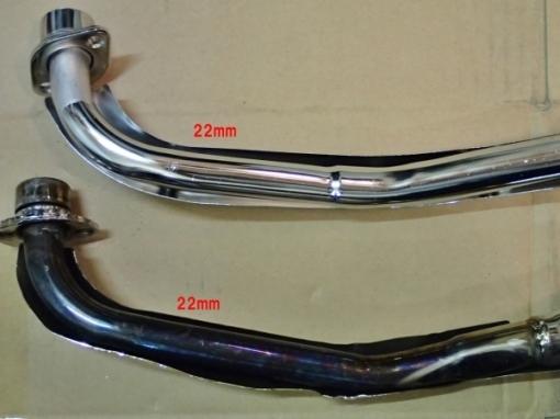 カブ70・マフラー修理&交換_a0279883_23514802.jpg
