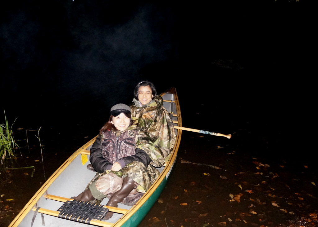 鶴居小学校で特別授業、素晴らしく出来上がったステージでリハ、そして夜は湖カヌー。_c0180686_01150602.jpg