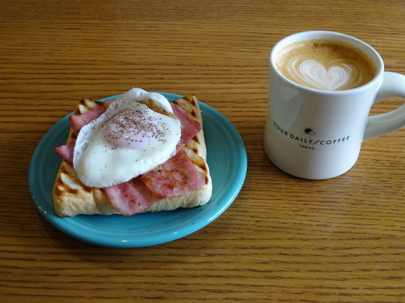 YOUR DAILY COFFEEさんでランチ_e0230011_16150096.jpg