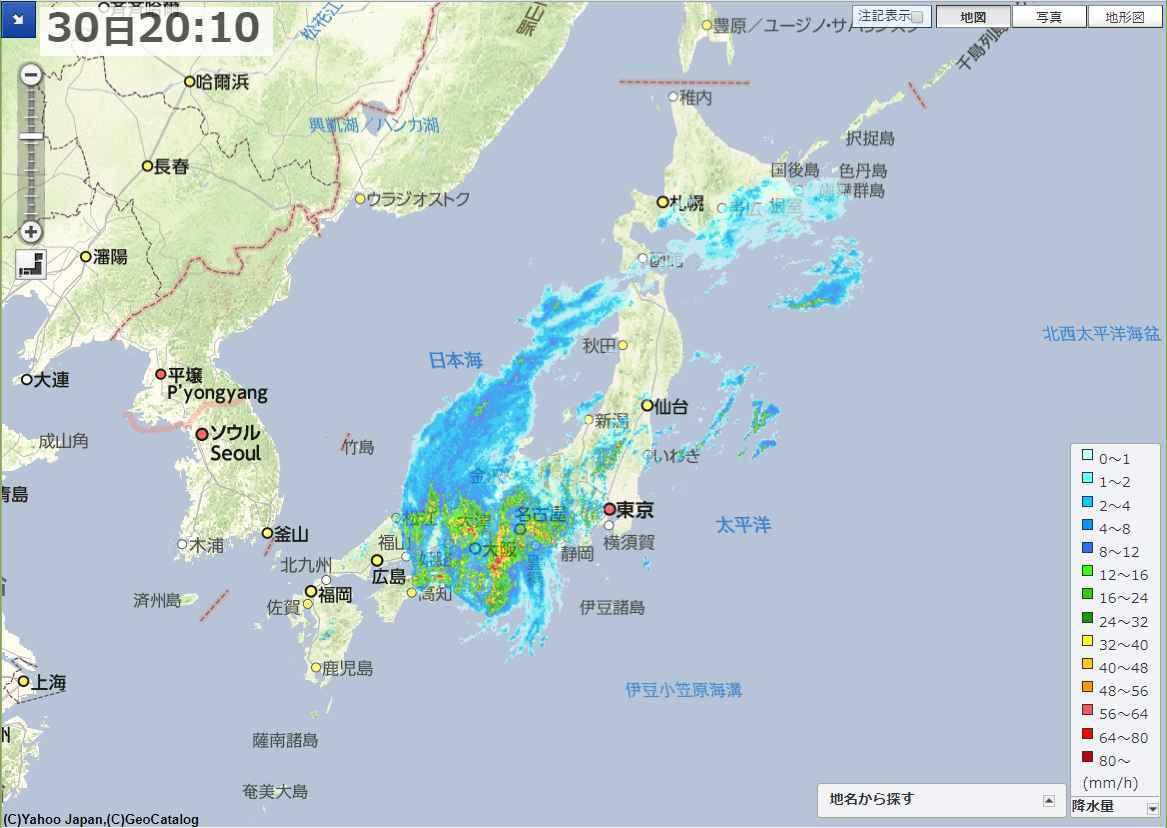 台風を待っていたらグラっときた_c0025115_22162496.jpg