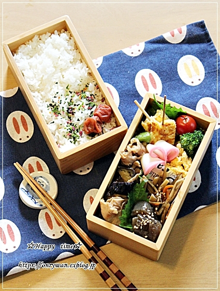 豚肉・茄子ピーマンの味噌炒め弁当と今週の作りおき♪_f0348032_15454146.jpg
