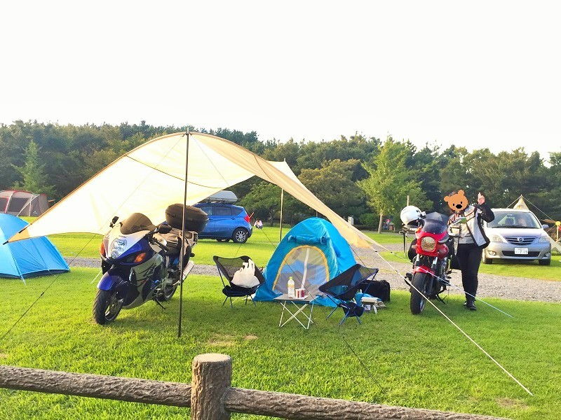 2018 秋 キャンプツーリング [夕日の丘キャンプ場]に 行ってきま~す!_c0261447_17102386.jpg