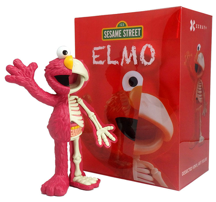 Sesame Street - Anatomical Elmo by Jason Freeny_e0118156_17190013.jpg