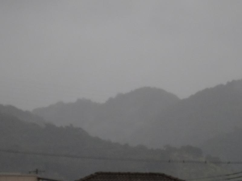 台風24号来襲・・・岬町淡輪_c0108460_16412240.jpg