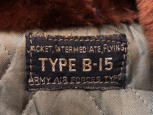 10月3日(水)大阪店冬物ヴィンテージ入荷!#3 U.S.ArmyAirForce編!!D-2 MechanicParka& B-15A FlightJKT!!(大阪アメ村店)_c0078587_482449.jpg