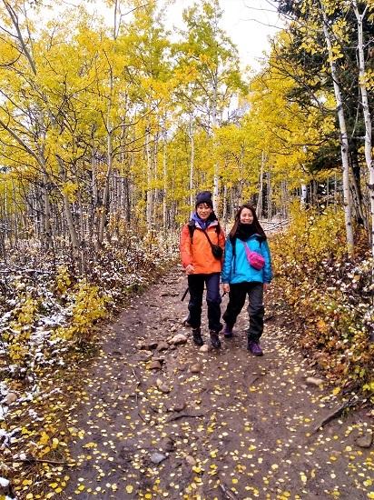 雪の黄葉 満喫ハイキング_d0112928_01512383.jpg