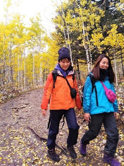 雪の黄葉 満喫ハイキング_d0112928_01513378.jpg
