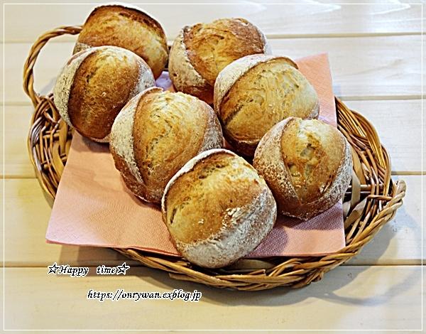 鮭むすび弁当とパン焼き・ミニクッペ♪_f0348032_17191218.jpg