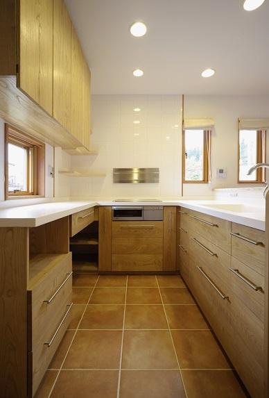 伊那市で設計事務所の家づくり  『家具屋さんが作る木製オーダーキッチン』 _b0146238_13415405.jpg