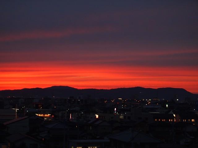 秋の夕焼け_d0295818_21555018.jpg