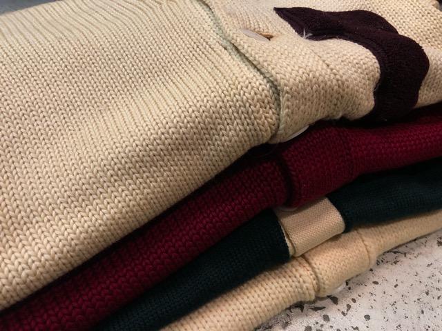 10月3日(水)大阪店冬物ヴィンテージ入荷!#8 アスレチックニット編!!Lettered Cardigan&Sweater!!_c0078587_234286.jpg
