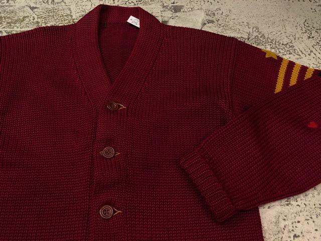 10月3日(水)大阪店冬物ヴィンテージ入荷!#8 アスレチックニット編!!Lettered Cardigan&Sweater!!_c0078587_235567.jpg