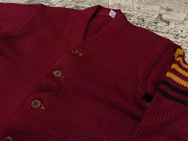 10月3日(水)大阪店冬物ヴィンテージ入荷!#8 アスレチックニット編!!Lettered Cardigan&Sweater!!_c0078587_2362553.jpg
