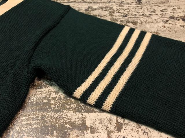 10月3日(水)大阪店冬物ヴィンテージ入荷!#8 アスレチックニット編!!Lettered Cardigan&Sweater!!_c0078587_2371489.jpg