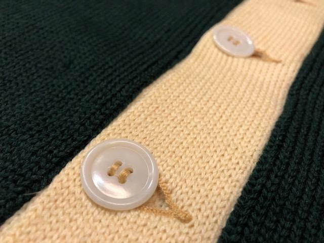 10月3日(水)大阪店冬物ヴィンテージ入荷!#8 アスレチックニット編!!Lettered Cardigan&Sweater!!_c0078587_237208.jpg