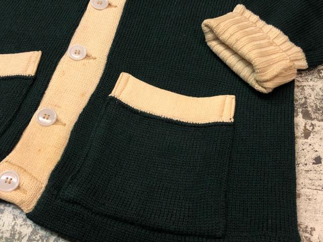 10月3日(水)大阪店冬物ヴィンテージ入荷!#8 アスレチックニット編!!Lettered Cardigan&Sweater!!_c0078587_2372682.jpg
