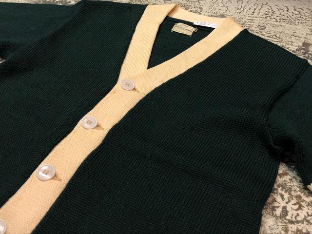 10月3日(水)大阪店冬物ヴィンテージ入荷!#8 アスレチックニット編!!Lettered Cardigan&Sweater!!_c0078587_2373279.jpg