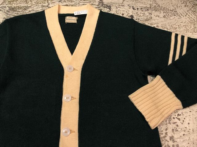 10月3日(水)大阪店冬物ヴィンテージ入荷!#8 アスレチックニット編!!Lettered Cardigan&Sweater!!_c0078587_237863.jpg