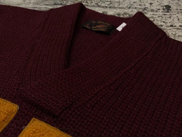 10月3日(水)大阪店冬物ヴィンテージ入荷!#8 アスレチックニット編!!Lettered Cardigan&Sweater!!_c0078587_2385023.jpg
