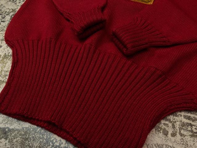 10月3日(水)大阪店冬物ヴィンテージ入荷!#8 アスレチックニット編!!Lettered Cardigan&Sweater!!_c0078587_241094.jpg