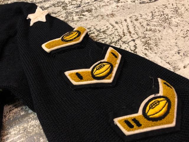 10月3日(水)大阪店冬物ヴィンテージ入荷!#8 アスレチックニット編!!Lettered Cardigan&Sweater!!_c0078587_242178.jpg