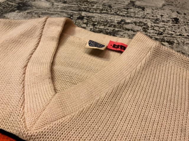 10月3日(水)大阪店冬物ヴィンテージ入荷!#8 アスレチックニット編!!Lettered Cardigan&Sweater!!_c0078587_2424421.jpg