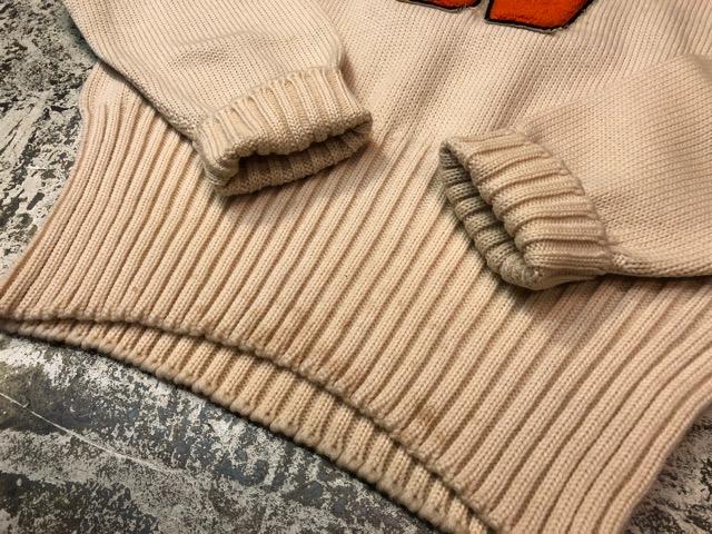 10月3日(水)大阪店冬物ヴィンテージ入荷!#8 アスレチックニット編!!Lettered Cardigan&Sweater!!_c0078587_2432180.jpg