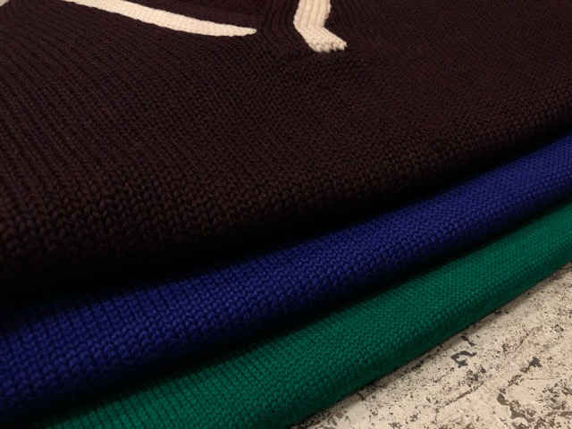 10月3日(水)大阪店冬物ヴィンテージ入荷!#8 アスレチックニット編!!Lettered Cardigan&Sweater!!_c0078587_2433919.jpg