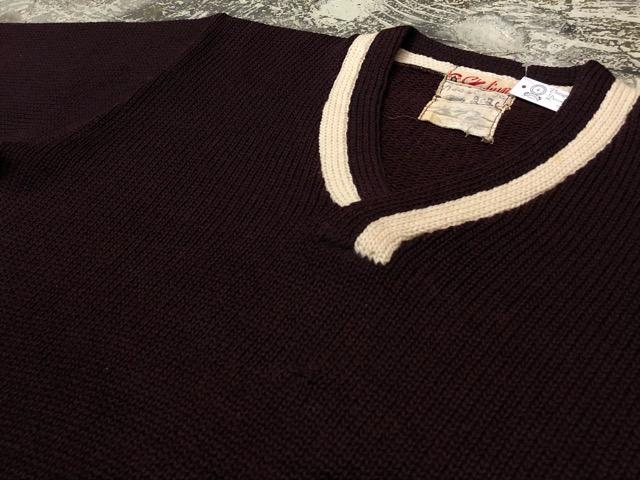 10月3日(水)大阪店冬物ヴィンテージ入荷!#8 アスレチックニット編!!Lettered Cardigan&Sweater!!_c0078587_2442339.jpg