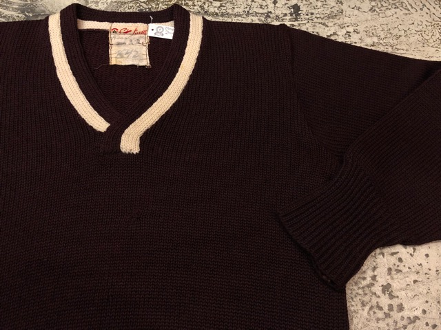 10月3日(水)大阪店冬物ヴィンテージ入荷!#8 アスレチックニット編!!Lettered Cardigan&Sweater!!_c0078587_244371.jpg