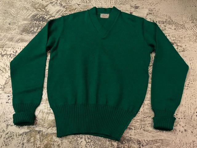 10月3日(水)大阪店冬物ヴィンテージ入荷!#8 アスレチックニット編!!Lettered Cardigan&Sweater!!_c0078587_2452972.jpg