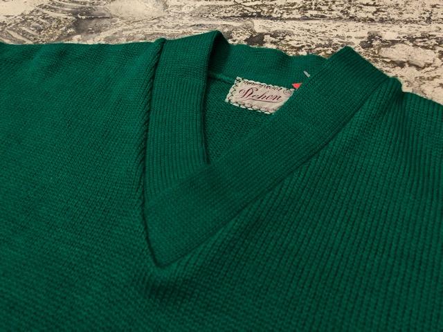 10月3日(水)大阪店冬物ヴィンテージ入荷!#8 アスレチックニット編!!Lettered Cardigan&Sweater!!_c0078587_2454960.jpg