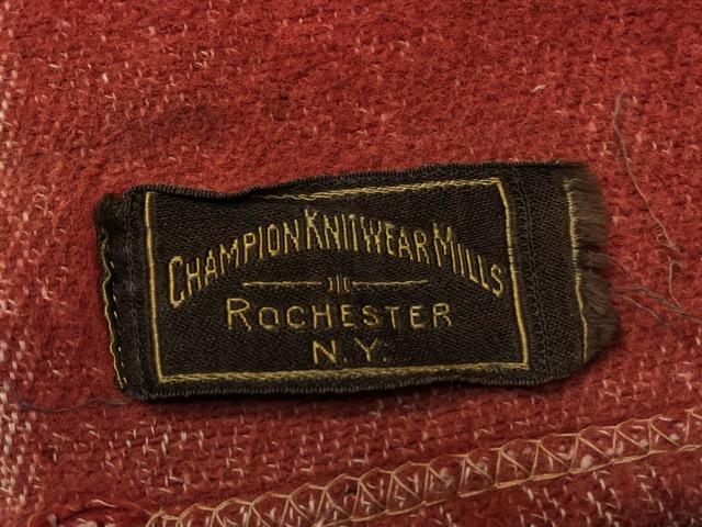 10月3日(水)大阪店冬物ヴィンテージ入荷!#10 U.S.Army編!!~30\'s Military Beacon Blanket by Champion Knitwear Mills!!_c0078587_3255120.jpg