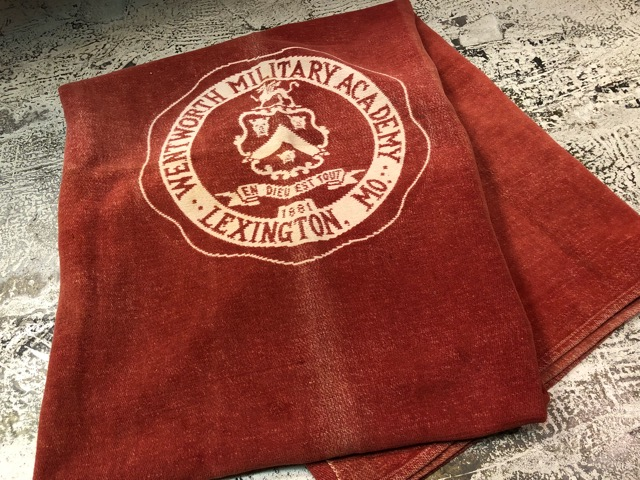 10月3日(水)大阪店冬物ヴィンテージ入荷!#10 U.S.Army編!!~30\'s Military Beacon Blanket by Champion Knitwear Mills!!_c0078587_3262841.jpg
