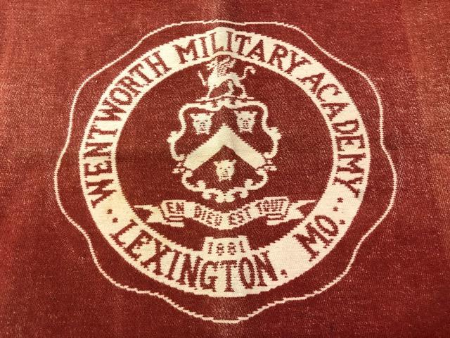 10月3日(水)大阪店冬物ヴィンテージ入荷!#10 U.S.Army編!!~30\'s Military Beacon Blanket by Champion Knitwear Mills!!_c0078587_3264377.jpg