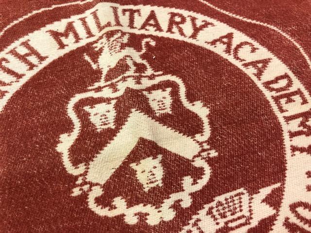 10月3日(水)大阪店冬物ヴィンテージ入荷!#10 U.S.Army編!!~30\'s Military Beacon Blanket by Champion Knitwear Mills!!_c0078587_326507.jpg