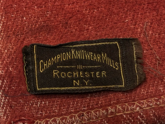 10月3日(水)大阪店冬物ヴィンテージ入荷!#10 U.S.Army編!!~30\'s Military Beacon Blanket by Champion Knitwear Mills!!_c0078587_3271212.jpg