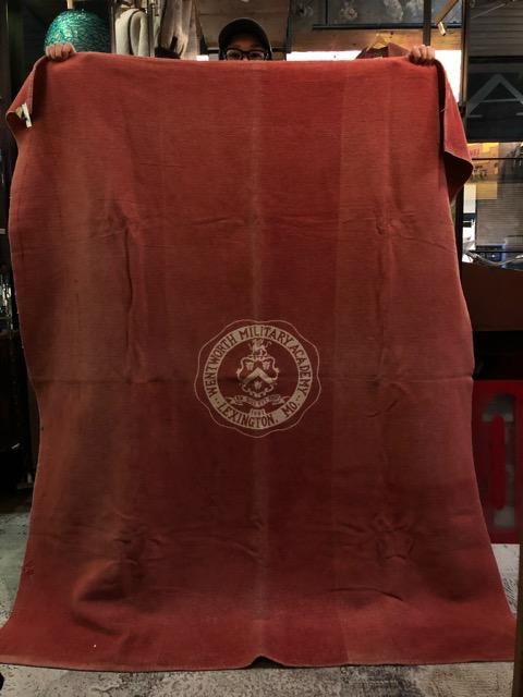 10月3日(水)大阪店冬物ヴィンテージ入荷!#10 U.S.Army編!!~30\'s Military Beacon Blanket by Champion Knitwear Mills!!_c0078587_3272560.jpg