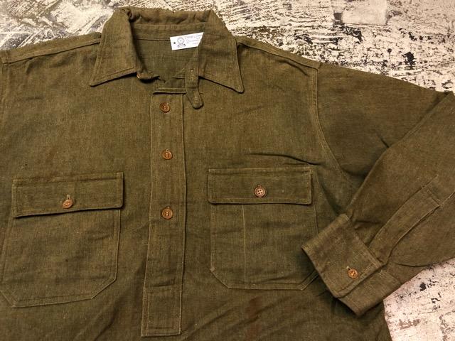 10月3日(水)大阪店冬物ヴィンテージ入荷!#10 U.S.Army編!!~30\'s Military Beacon Blanket by Champion Knitwear Mills!!_c0078587_3294835.jpg