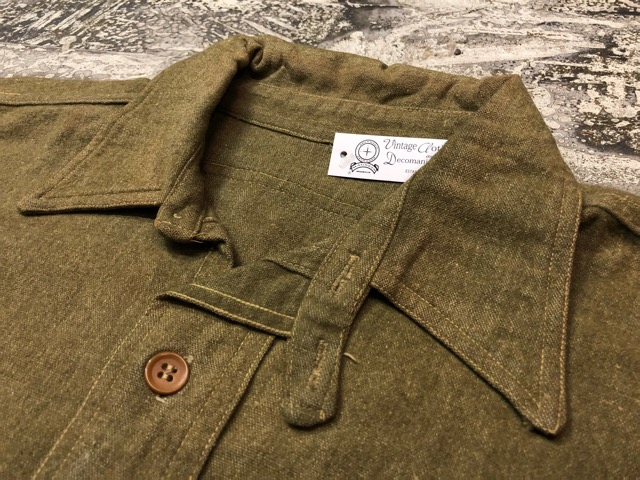10月3日(水)大阪店冬物ヴィンテージ入荷!#10 U.S.Army編!!~30\'s Military Beacon Blanket by Champion Knitwear Mills!!_c0078587_3295951.jpg